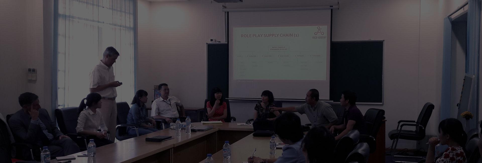 Học viện Fresh Academy đào tạo về quản lý chuỗi cung ứng và phát triển kinh doanh